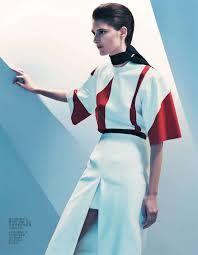 red, white and black fashion editorials - Google Search