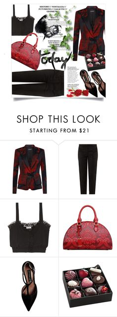 """""""Untitled #2989"""" by kristina-bishkup ❤ liked on Polyvore featuring ESCADA, Elizabeth and James, Sonia Rykiel and Steve Madden"""