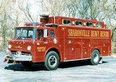Sharonville, OH FD 1967 Ford/Swab 100 GPM - 40 Tank - #2562 - SHR 17