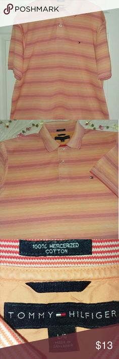 I just added this listing on Poshmark: Men's Large Tommy Hilfiger Polo shirt. #shopmycloset #poshmark #fashion #shopping #style #forsale #Tommy Hilfiger #Other