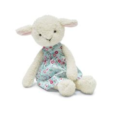 "Jellycat Floral Friends Lucy Lamb - 9"" Jelly Cat"
