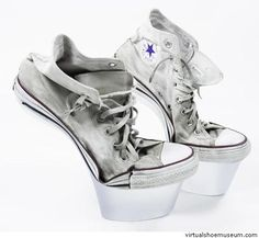 f74b11e3eb73 Casual stripper shoes. Do they have a heel or am I blind  If not