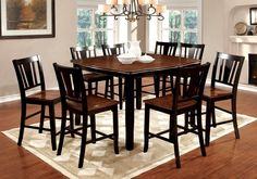 19 best elegant black and cherry dining sets images dining sets rh pinterest com