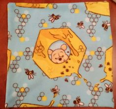 Winnie the Pooh Fleece Pillow Cover - choose the size and fabric /minnie/mickey/dogs/snoopy/chevron/dots/cats by TheCreativeEscape on Etsy