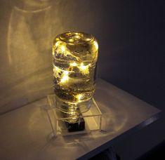Ghosts Gift - Mason Jar Lights - Night Light Lamp - LED Lantern - Gothic Home Decor - Halloween Decor - Mason Jar Decor - Resin Art - Black by CapturedLights on Etsy https://www.etsy.com/listing/584513463/ghosts-gift-mason-jar-lights-night-light