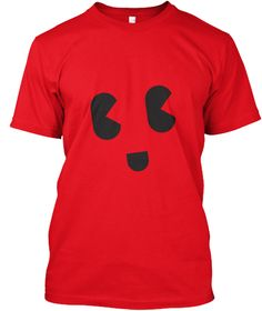 Tees Smily Red Camiseta Front