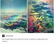 Oh that's beautiful, I've never seen it, but I was wondering if I had a gay comment xD – funny photoshop Tumblr Sky, Tumblr Posts, Weird Facts, Fun Facts, Pretty Pictures, Cool Photos, Beautiful World, Beautiful Places, Amazing Photography