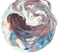 anime watercolor - Buscar con Google