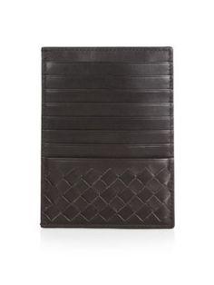 BOTTEGA VENETA Intrecciato Card Case. #bottegaveneta #bags #leather #