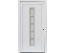 Merida Haus /Nebeneingangstür Kunststoff Weiss Verschiedene Maße   KP Holz  Shop Ist Ihr Onlineshop Für Günstige Türen, Böden, Parkett Und Gartenhäuser.