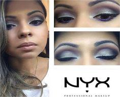 A consultora da NYX Cuiabá @kathiusaqueirozmakeup