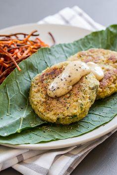 Falafel with Tahini Garlic Sauce | https://edibleperspective.com #glutenfree #vegan