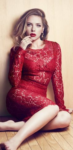 Scarlett is a goddess... absolutely love her.
