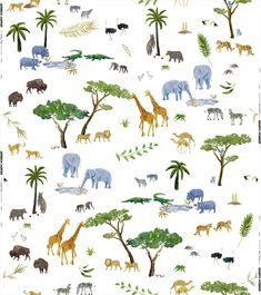 Noah Multi by Andrew Martin fabric This is the halo fabric design of the Holly Frean fabric collection. Lions, tigers, zebras and even dodo's feature in this enchanting safari animal scene. All animals have been drawn by hand and digitally printed onto linen. Great for kids and grown ups alike.