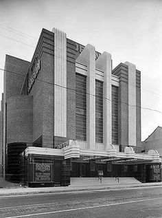 Odeon Cinema, Sidwell Street, Exeter, Devon Cinema Architecture, Russian Architecture, Futuristic Architecture, Bauhaus, Exeter Devon, Art Deco Buildings, As Time Goes By, Art Deco Period, Home Cinemas