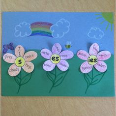 Plural Noun Flowers!  April Showers Bring Plural Nouns :o) Grammer multicityworldtravel.com Cover The World Hotel And Flight Deals.We Guarantee The Best Price.