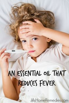 Peppermint oil is very effective at reducing fevers when needed. It's also far safer than over the counter fever reducers. Read how simple it is to use!