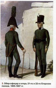 Russian Jäger Regiments 1805