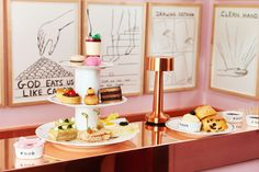 5 Pretty London Afternoon Tea spots including Sketch and The Orangery at Kensington Palace