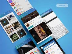 Freebie: iOS App Store Redesign Freebie PSD UI - http://www.vectorarea.com/freebie-ios-app-store-redesign-freebie-psd-ui