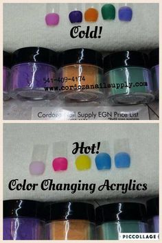 SURPRISE COLOR CHANGING ACRYLIC