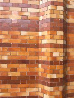 Glazed brick Glazed Brick, Castle House, Brickwork, Water Features, Outdoor Lighting, Salt, Project Board, Home, Kiosk