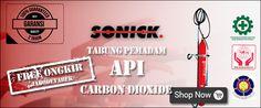 Harga Pemadam Api Carbon Dioxide Sonick 25 kg alat pemadam api ringan APAR jenis Liquid Carbon Dioxide (Co2) Dapat digunakan memadamkan kebakaran kelas B dan C karena merupakan bahan gas, Liquid Co2 tidak merusak, dengan daya guna yang sangat efektif, bersih dan tidak meninggalkan residu. Office: Jl. Pondok Kelapa Raya Blok G1 No.4A Jakarta Timur 13450. Telp : 021 – 99001454 Fax : 021 – 4801163 HP : 081-2222 91986 Email : pujianto@tabungpemadamapi.com