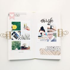 I finally got around to filming a flip-thru of my March notebook. I thought  I would post a few pictures here as well. This was my favorite book to make  so far and I think that had a lot to do with the fact that I have developed  a pretty good process. It was the same thing when I was doing a pocket  based version of Project Life...things went so much more smoothly once I  had a system in place. While these books seem rather compact, I am now  realizing that devoting an entire book to a…