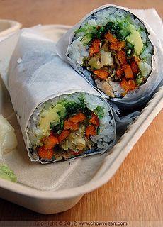 Sushi Veggie Burrito