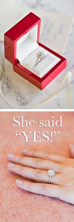 [ad] Wow her with an engagement ring from James Allen! Click to view more.