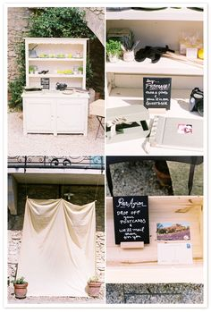 DIY photo booth. i heart.