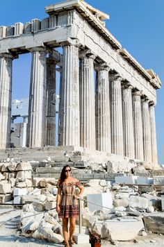 Want to vacation in Greece on a budget? Check out my 10 day itinerary detailing where to go, what to see, and how to do it all affordably!