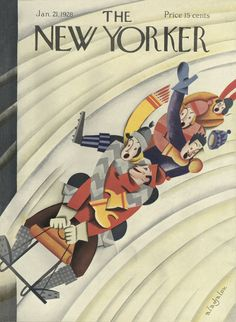 Constantin Alajalov : Cover art for The New Yorker 153 - 21 January 1928 The New Yorker, New Yorker Covers, Sketchbook Cover, Fashion Sketchbook, Fashion Show Poster, Vintage Illustration Art, Cover Style, Vogue, Magazine Art