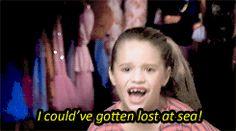 """ dance moms meme; six quotes + ""I could've gotten lost at sea!"" - Mackenzie Ziegler """
