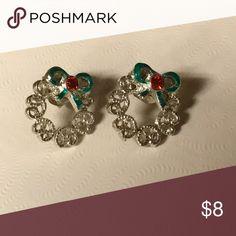 Christmas wreath earrings Christmas wreath earrings Jewelry Earrings