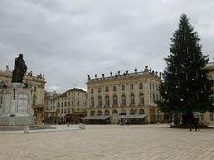 December in Place Stanislas--Nancy, France