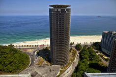 A hotel designed by famed modernist Oscar Niemeyer but closed for over 20 years has reopened as a luxury resort in Rio de Janeiro