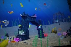 I built a fish out of Lego and now it lives in a virtual fish tank
