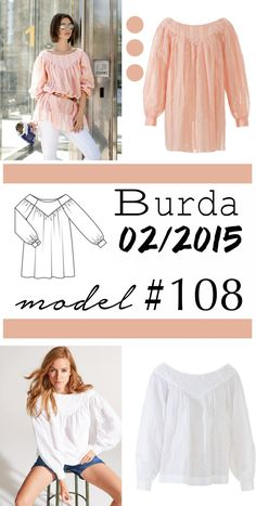 Sukienka uszyta z firanki Burda Patterns, One Shoulder, Shoulder Dress, Zara, Blouse, Model, Tops, Dresses, Fashion
