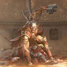 Shao Khan, The Undefeated Alien Character, Character Concept, Character Art, Concept Art, Scorpion Mortal Kombat, Mortal Kombat 3, Liu Kang, Video Game Characters, Fantasy Characters