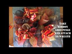 Deco Mesh Centerpiece! Part 1 - YouTube