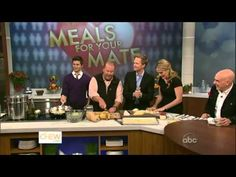 The Chew Full Episode Neil Patrick Harris and David Burtka 2012 - YouTube David Burtka, Neil Patrick Harris, The Chew, Full Episodes, Youtube, Fan, Club, Hand Fan, Youtubers