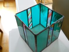 Image result for stained glass candle holder