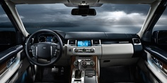 13 Model Year Range Rover Sport - Front cabin
