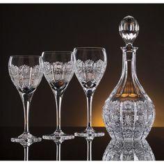 Bohemia crystal decanter