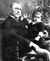 James Whitcomb Riley Hoosier Poet.....my children's great, great, great uncle....how cool!