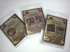 Lot of 3 Vintaj Emboss & Etch Sizzix Dies - Jewelry/Metal Crafting/Scrapbooking - $6.99 starting bid on eBay.com with free shipping.