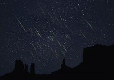 Meteor calendar UK 2014