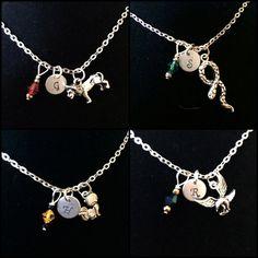 Hogwarts House Animal Necklace by byAmandaJane on Etsy, $19.00