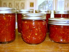 """This recipe for tomato chutney is hands-down the best recipe for this """"adult ketchup"""" condiment that is a favorite of everyone on both meat & vegetables."""